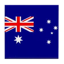 Flag of Australia Tile Coaster