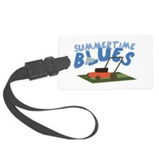 Summer Time Blues Luggage Tag