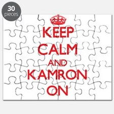Keep Calm and Kamron ON Puzzle