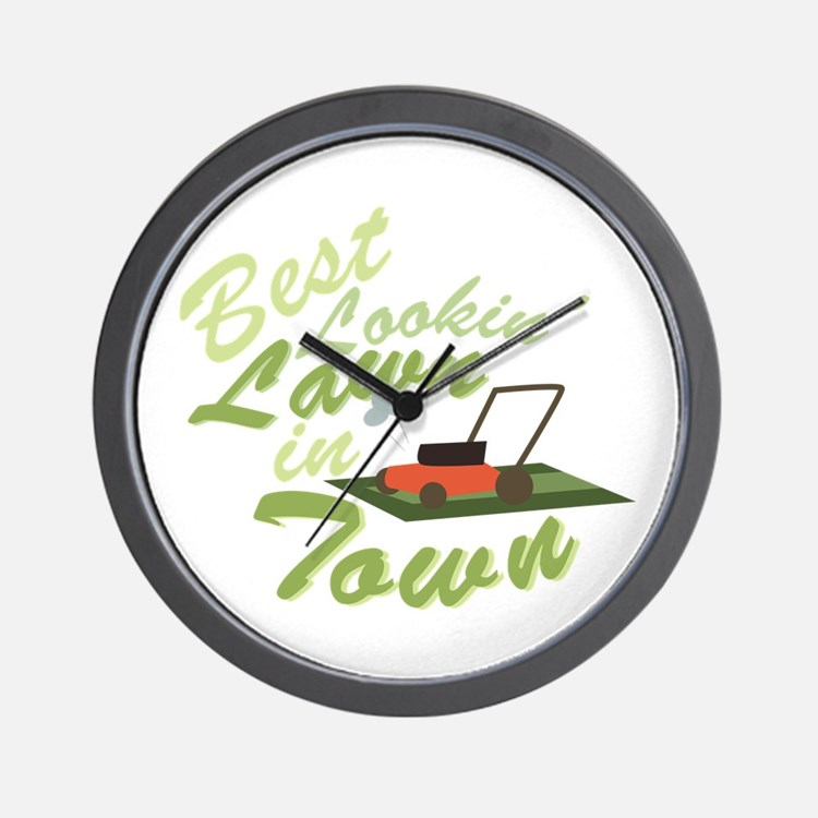 Best Lookin Lawn Wall Clock