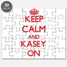 Keep Calm and Kasey ON Puzzle