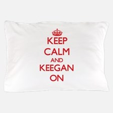 Keep Calm and Keegan ON Pillow Case