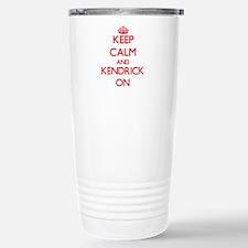 Keep Calm and Kendrick Stainless Steel Travel Mug