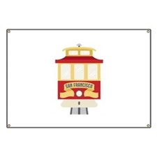 Cable Car San Francisco Banner