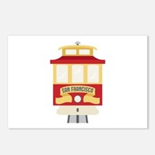 Cable Car San Francisco Postcards (Package of 8)