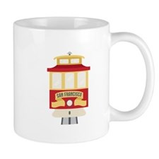 Cable Car San Francisco Mugs