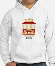 Cable Car San Francisco Hoodie