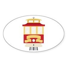Cable Car Trolley Decal