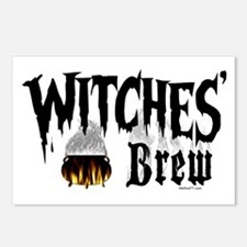 Witches Brew Postcards (Package of 8)