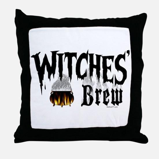 Witches Brew Throw Pillow