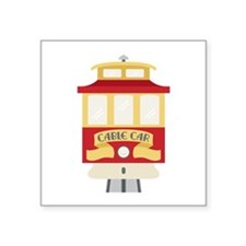 Cable Car Sticker