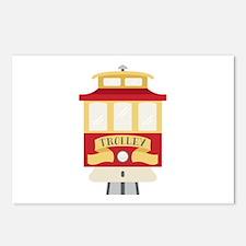 Trolley Postcards (Package of 8)
