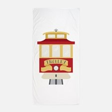 Trolley Beach Towel