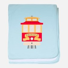 Trolley baby blanket