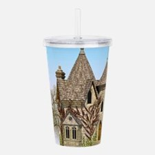 Fairytale Castle Acrylic Double-wall Tumbler