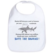 Save the Sharks Bib