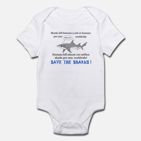 Save the Sharks Infant Bodysuit