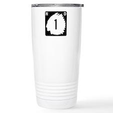 Highway 1, North Dakota Travel Mug