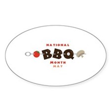 National BBQ Month Decal