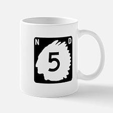 Highway 5, North Dakota Mug