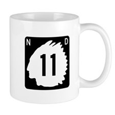 Highway 11, North Dakota Mug