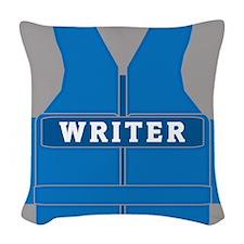 Richard Castle Vests Woven Throw Pillow