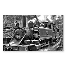Narrow Gauge Railway Steam Train Engine Decal