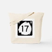 Highway 17, North Dakota Tote Bag