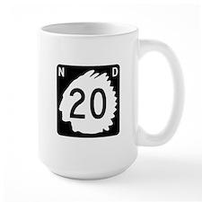 Highway 20, North Dakota Mug