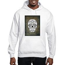 Sugar Skull (black and white) Hoodie