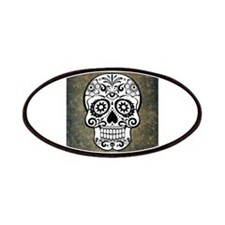 Sugar Skull (black and white) Patch