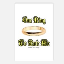 One Ring Postcards (Package of 8)
