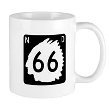 Highway 66, North Dakota Mug