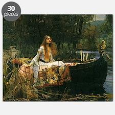 Lady of Shalott by JW Waterhouse Puzzle