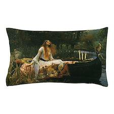 Lady of Shalott by JW Waterhouse Pillow Case