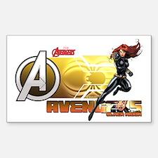The Avengers Black Widow Actio Decal