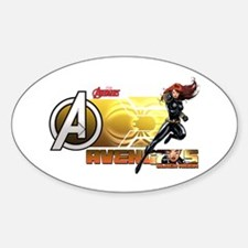 The Avengers Black Widow Action Decal