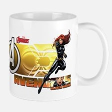 The Avengers Black Widow Action Mug