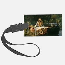 Lady of Shalott by JW Waterhouse Luggage Tag