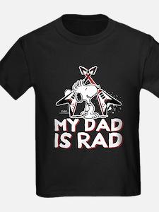 Snoopy - My Dad is Rad T-Shirt