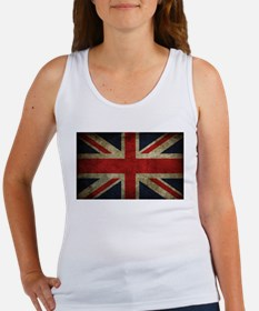 Grunge Flag Of England Tank Top