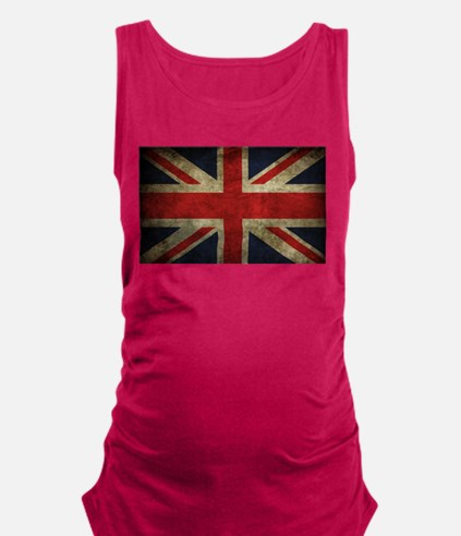 Grunge Flag Of England Maternity Tank Top