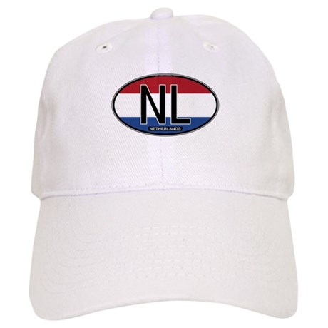 Netherlands Oval Colors Cap