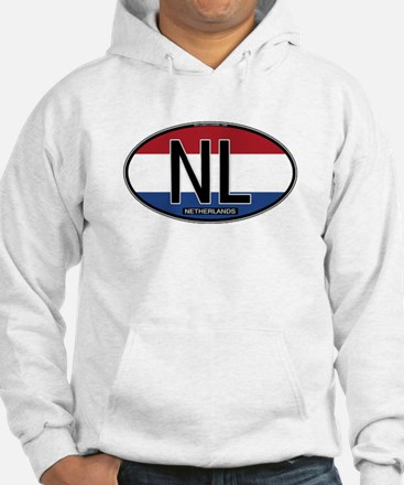 Netherlands Oval Colors Hoodie