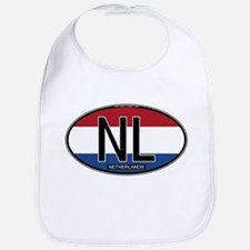 Netherlands Oval Colors Bib