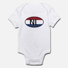 Netherlands Oval Colors Infant Bodysuit