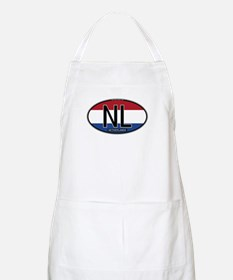 Netherlands Oval Colors BBQ Apron