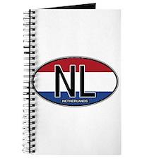 Netherlands Oval Colors Journal