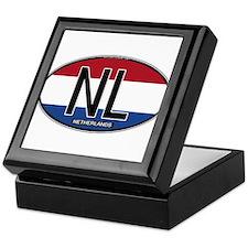 Netherlands Oval Colors Keepsake Box