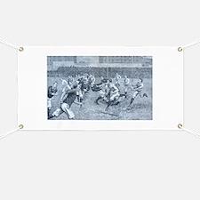 rugby art Banner